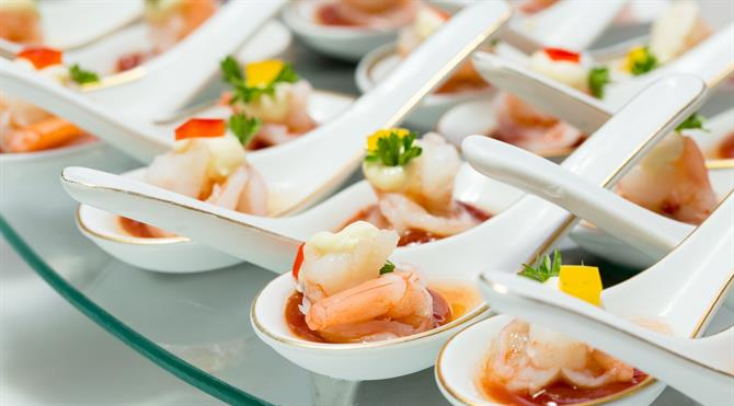 Finger foods for variety of occasions with JA catering