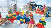 A Family Enjoying a Theme Park in Dubai with JA Resorts & Hotels