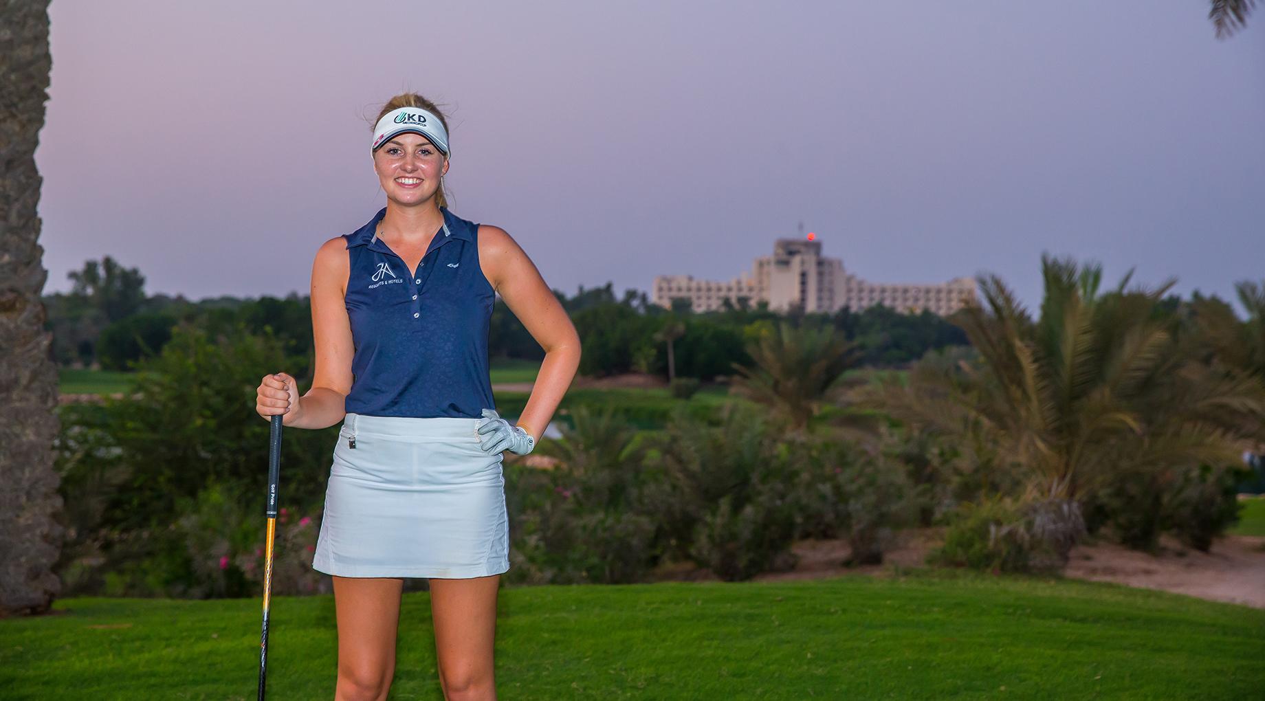 JA Resorts & Hotels sponsors young golfer Olivia Cowan