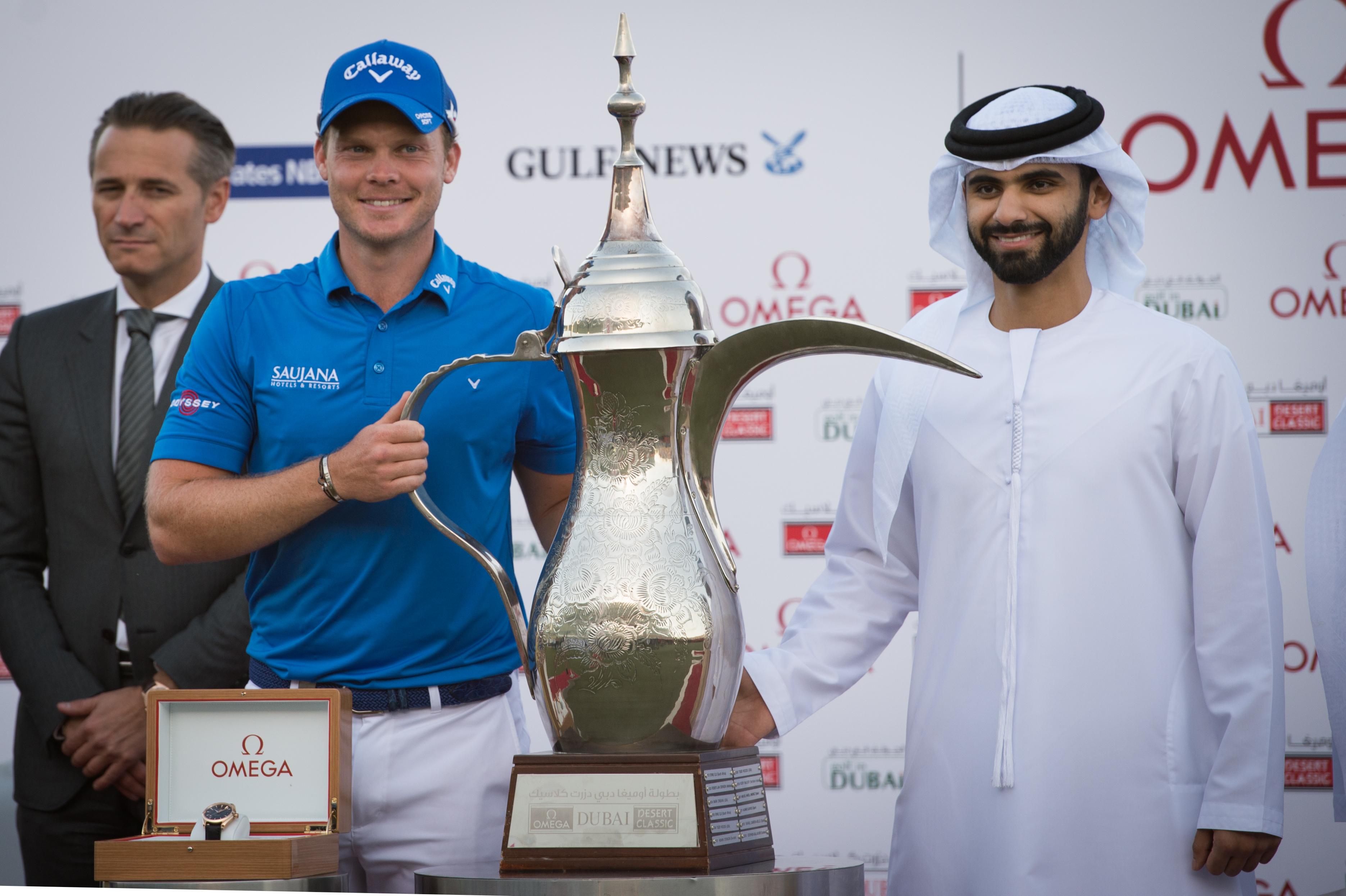 Omega Dubai Desert Classic 2016 - Winner