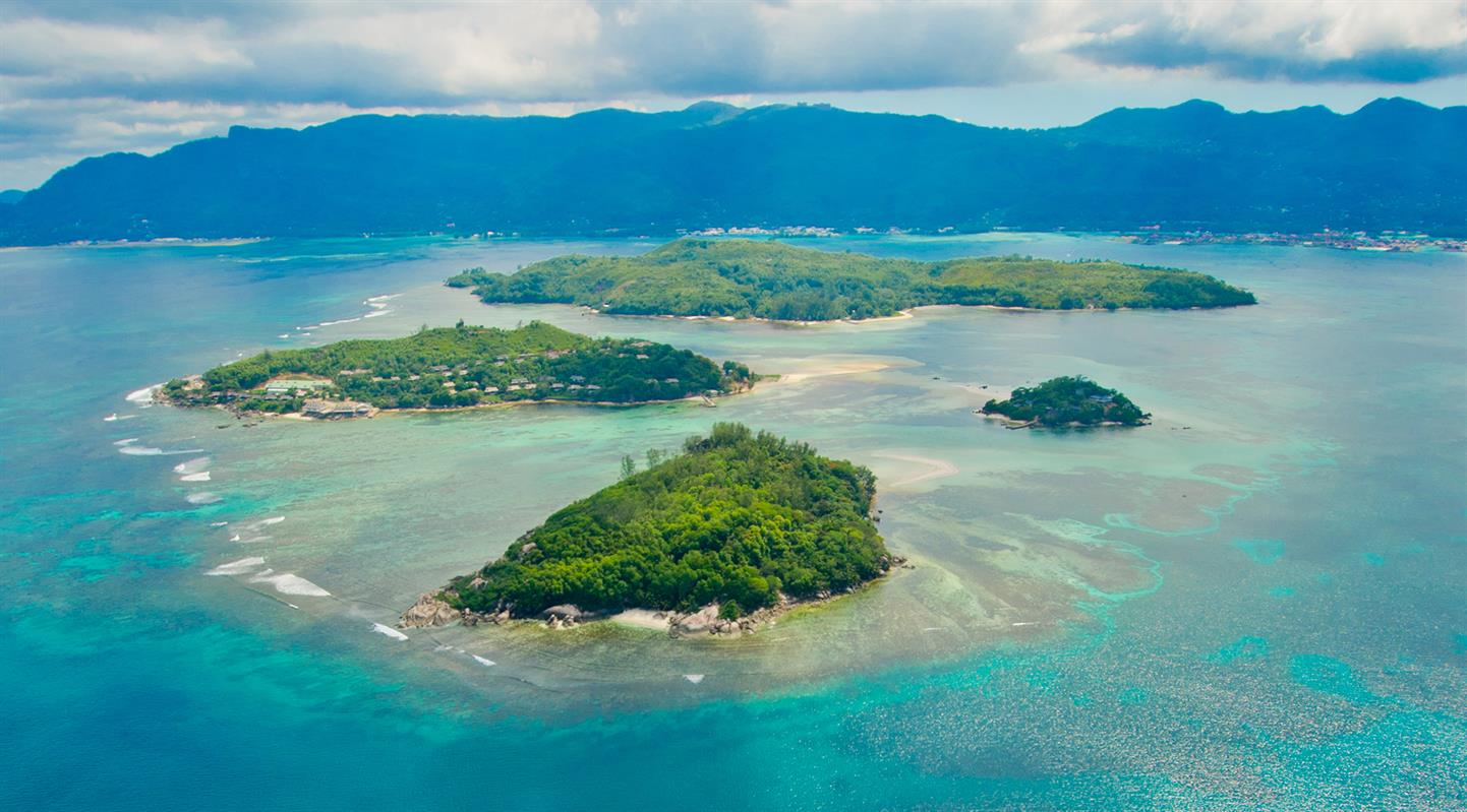 Enchanted Island Resort Seychelles Aerial View