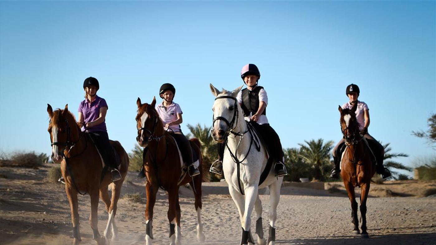 Equestrian Ja Al Sahra Desert Resort