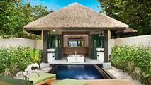 BEACH BUNGALOW WITH PRIVATE POOL