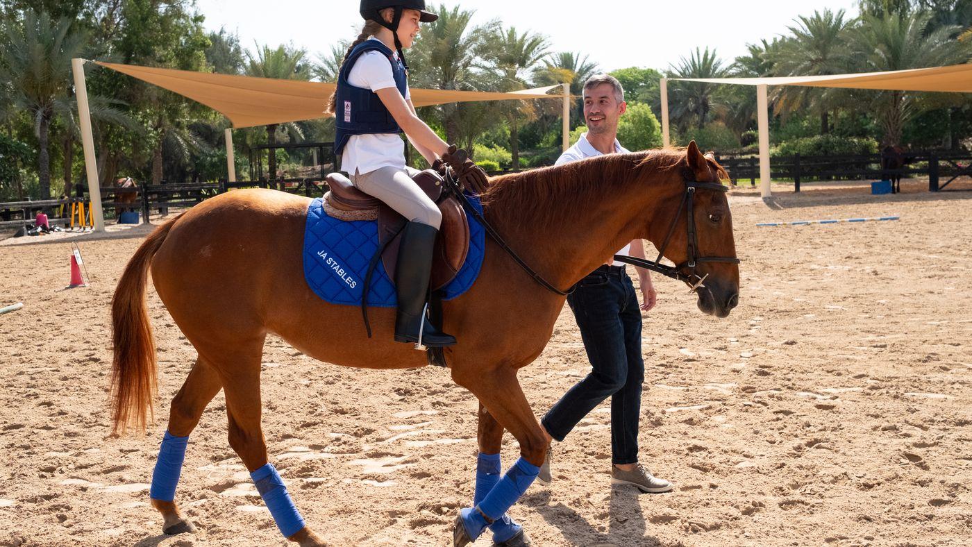 Horse Riding In Uae Ja Palm Tree Court Leisure